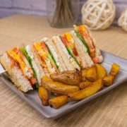 3.Club Sandwich & Fries
