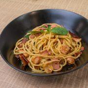 5.Spaghetti Spicy Bacon