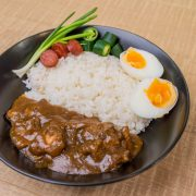 12.Beef Panang Red Curry Rice