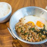 Nimitz Kaprow Pan Fried Eggs