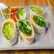 Salmon Caesar Wrap