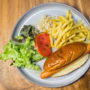 Hot Dog & French Fries