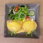 5.Salmon Eggs Benedict