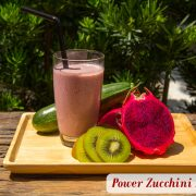 Power Zucchini Pitaya Yogurt