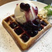 Waffle or Pancake Ice Cream